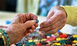 Older people's hands